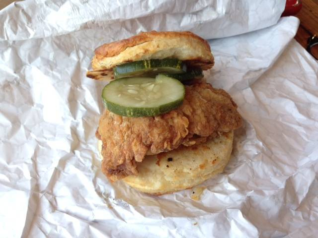 First Taste: Leghorn Chicken