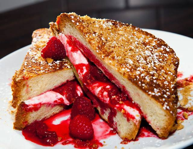 Stuffed French toast at Kanela Breakfast Club