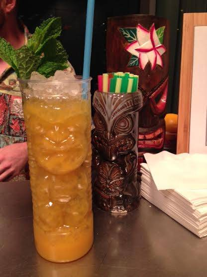 Tiki drinks at Sable