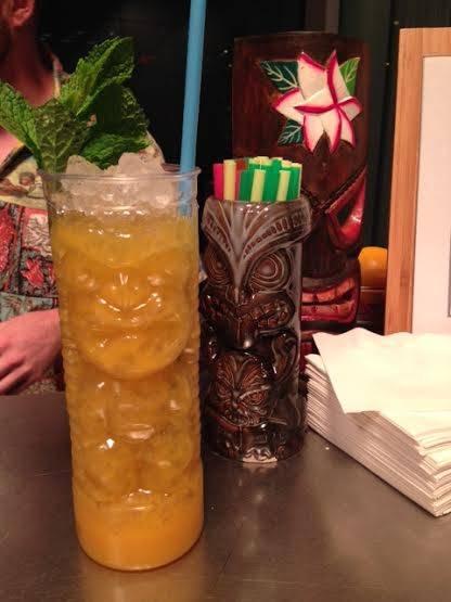 Tiki drinks at Sable