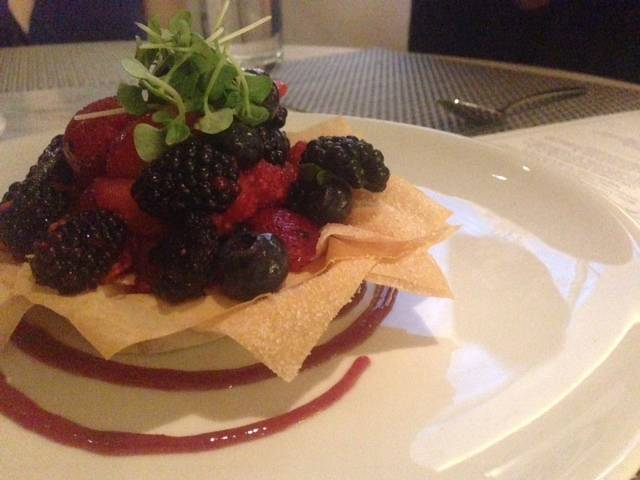Sweet of the Week: Mixed Berry Crostata at FIG & OLIVE