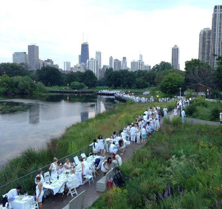 Diner en Blanc: The Stages of Excitement, Duress, Panic, and Delight