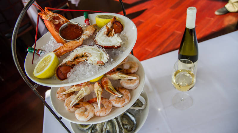 Seafood Towers Reach New Heights