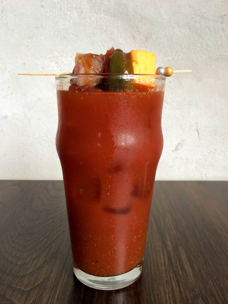 (The Smokehouse Bloody Mary at The Dawson. Photo: Nicole Ess)
