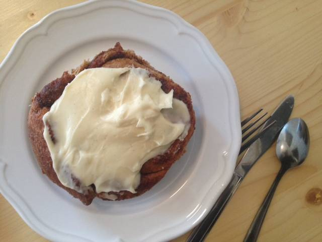 Sweet of the Week: Sourdough Cinnamon Roll at Baker Miller