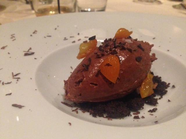 Sweet of the Week: Chocolate Mousse and Citrus at mk The Restaurant