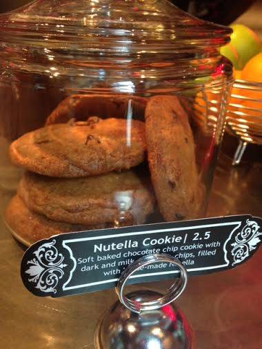 Sweet of the Week: Nutella Cookie at Two Zero Three
