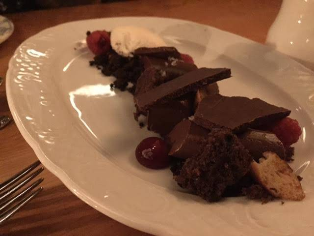 Sweet of the Week: Chocolate and Raspberries at Cherry Circle Room