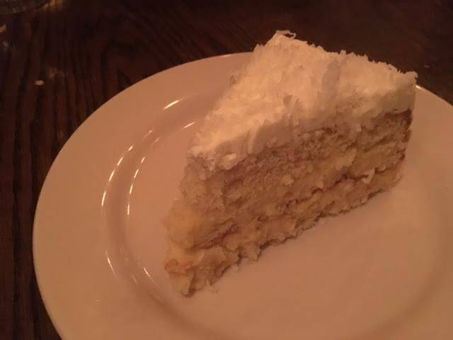 Sweet of the Week: Coconut Cake at Oyster Bah