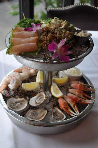 These Seafood Towers Soar High @ Tavern On Rush
