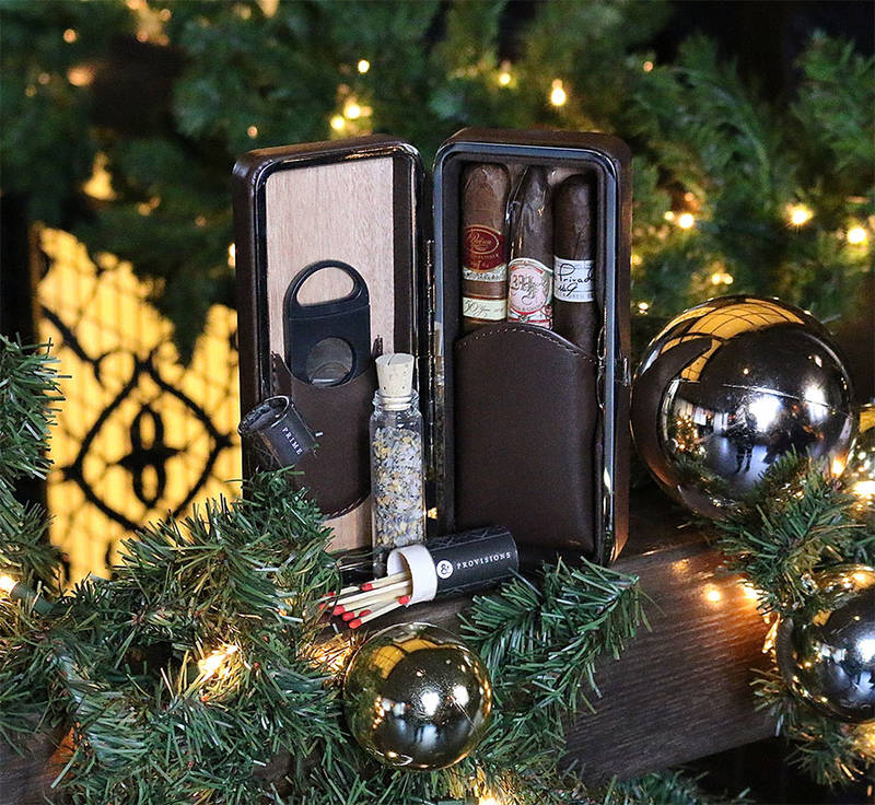 HOLIDAY CIGAR GIFT BOXES @ Prime & Provisions