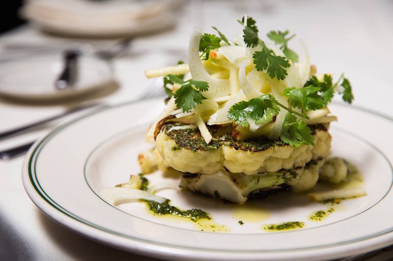 Trend Watch: Cauliflower Takes the Steakhouse Spotlight