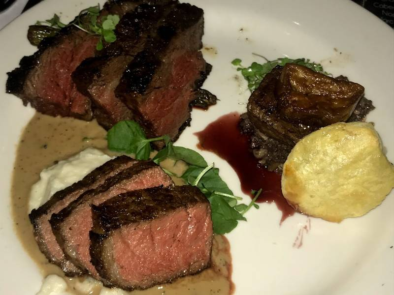 The Epic Morton S Steak And Mondavi Wine Dinner Comes Once Every