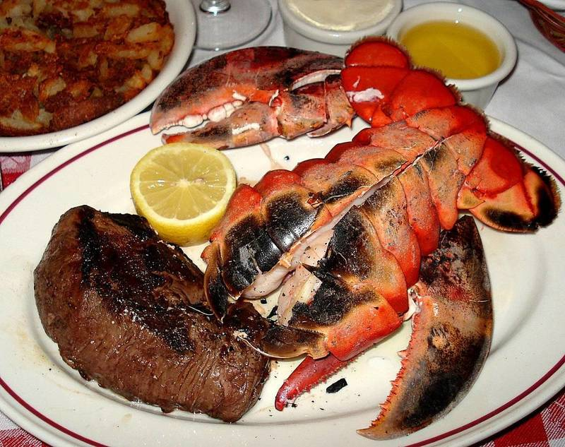 Best Sin City Steakhouses for Lent...or for Fantastic Seafood, Anytime