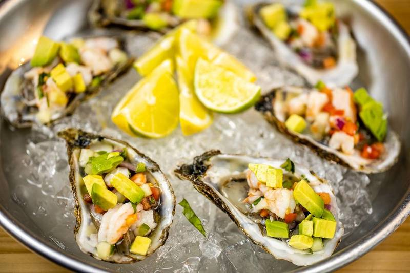 AZUL MARISCOS a beautiful example of how Mexican spices –