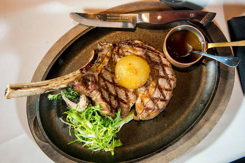 RESERVE CUT NEW YORK STEAKHOUSE in the Financial District,