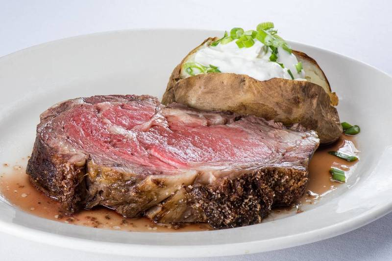 ST. CHARLES PLACE, Where red meat takes center stage