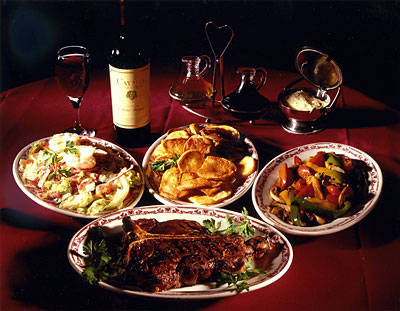 Gene and Georgetti  best steakhouses in chicago