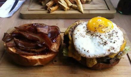 Butcher & the Burger best comfort food chicago;