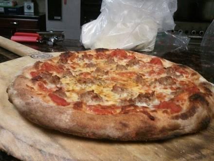 Flour & Stone Oprah favorite pizza;