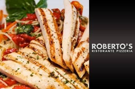 Roberto's Ristorante & Pizzeria Pizzas;