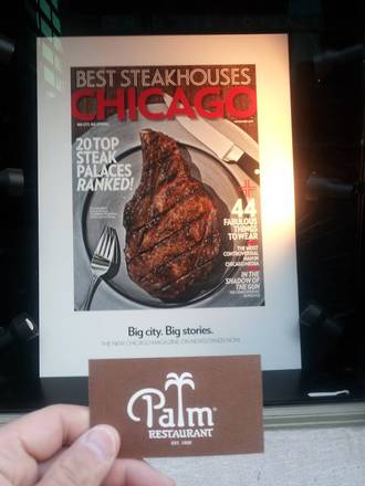 The Palm Restaurant - Chicago chicago steakhouse