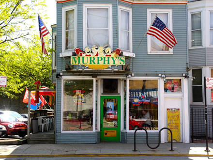 Murphy's Red Hots Chicago hot dog 2016