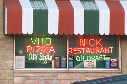 Vito & Nick's Pizzeria  Chicago pizza;