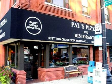 Pat's Pizza Chicago pizza