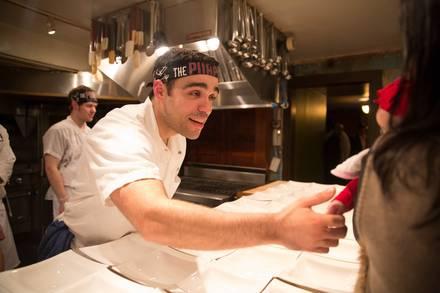 The Purple Pig best west loop restaurants;