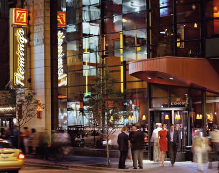 Fleming's Prime Steakhouse - Chicago best steakhouses in chicago