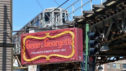 Gene and Georgetti  best chicago steakhouse