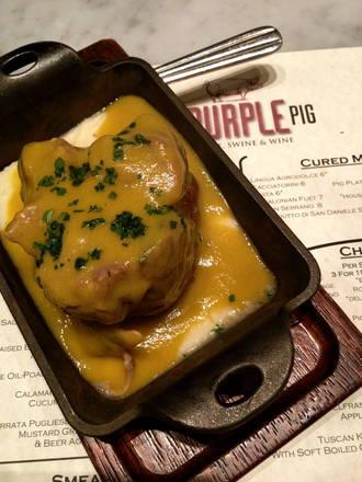 The Purple Pig best fried chicken in chicago;