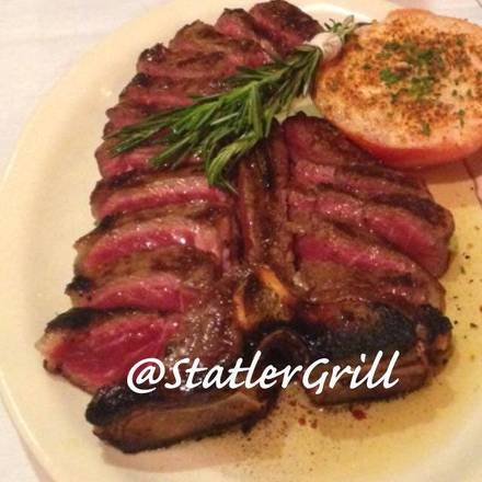 Statler Grill prime steakhouse nyc