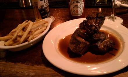 Keens Steakhouse best steakhouses in nyc