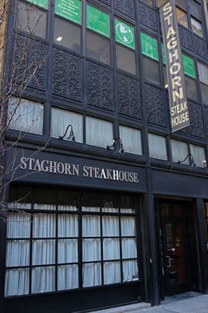 Staghorn Steakhouse best steak in nyc best steak nyc