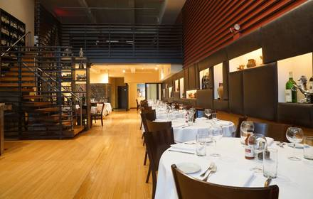 Staghorn Steakhouse best steakhouse nyc