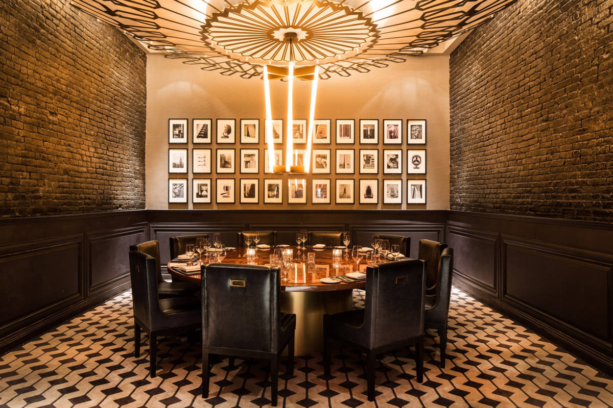 private dining room. las vegas restaurants with private dining