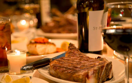 Angus Club Steakhouse best steakhouse nyc