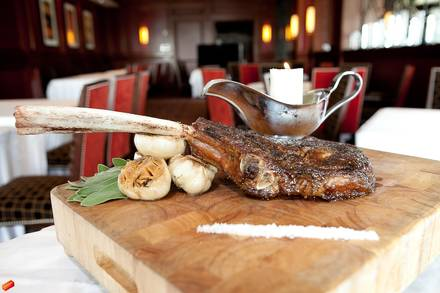 Bull & Bear Steakhouse best steakhouse in nyc