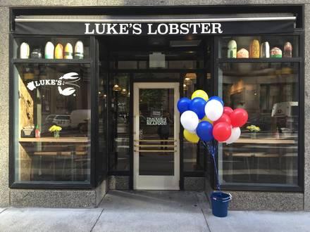 Luke's Lobster Best Restaurants 2018;