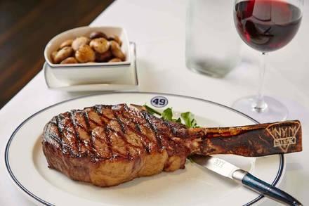 NYY Steak best steakhouse nyc