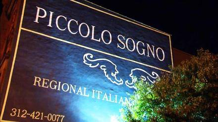Piccolo Sogno best chicago rooftop restaurants;