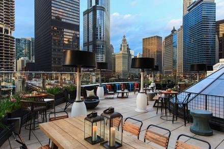 Raised: An Urban Rooftop Bar best chicago restaurants