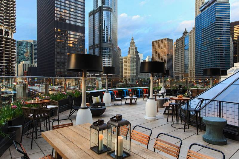 Raised: An Urban Rooftop Bar