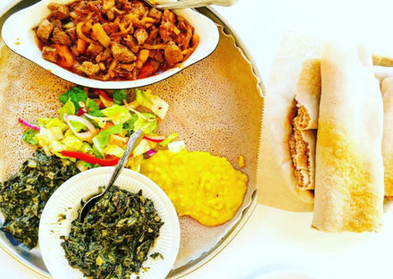 Demera Ethiopian Restaurant best comfort food chicago;