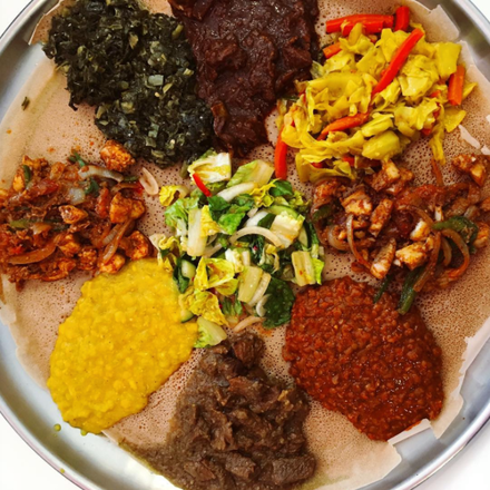 Demera Ethiopian Restaurant best ramen in chicago;
