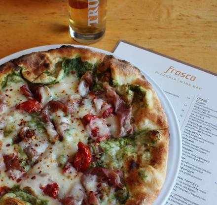 Frasca Pizza and Wine Bar pizzeria;