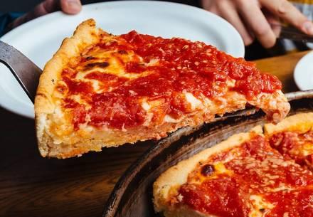 Lou Malnati's Pizzeria Chicago pizza;