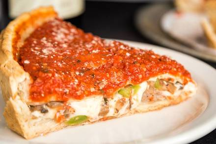 Bacino's of Lincoln Park Chicago pizza;
